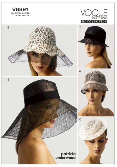Patricia Underwood - V9991 hat pattern - csews.com