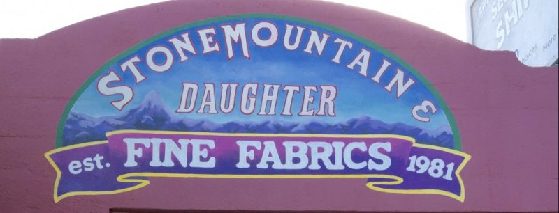 Stonemountain & Daughter Fabrics – What's next?