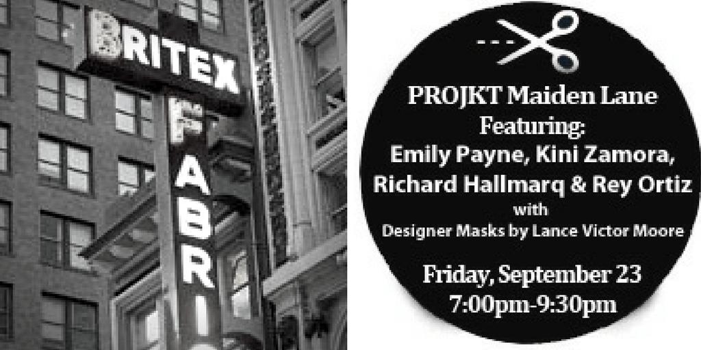 Win a ticket to PROJKT Maiden Lane!