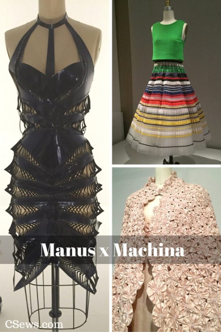Manus x Machina: Fashion in an Age of Technology exhibit at the Met
