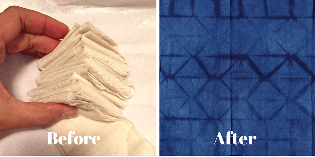 DIY Shibori – indigo dyeing – Part 2