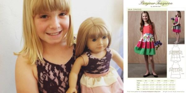 Bonjour Teaspoon - Mia Dress sewing pattern