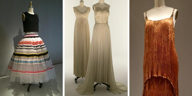 Manus x Machina - pleated garments - Dior, Fortuny and more