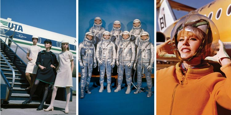 More flight attendant uniforms – and astronauts!