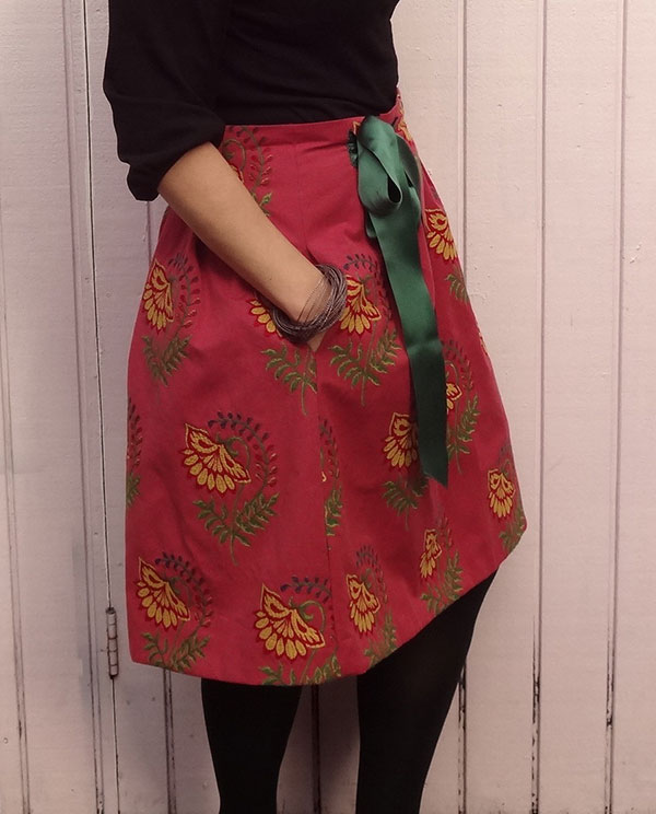 Chardon skirt - side seam