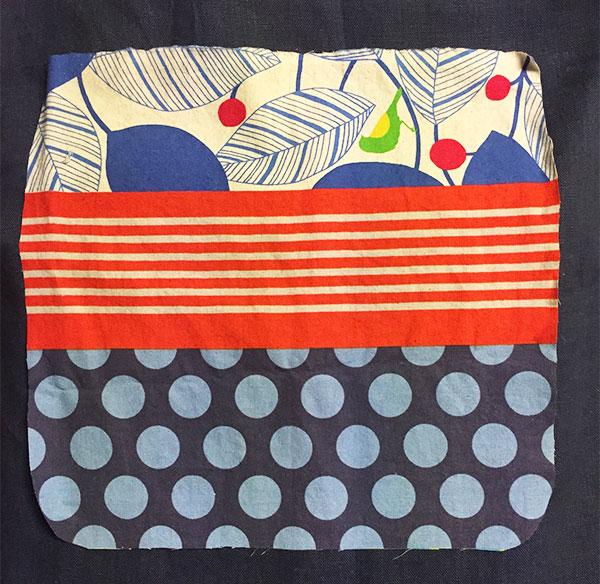 Pocket Fabric - Echino fabric