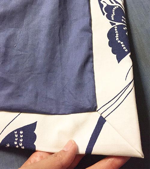 Sapporo Coat - inside detail - C Sews