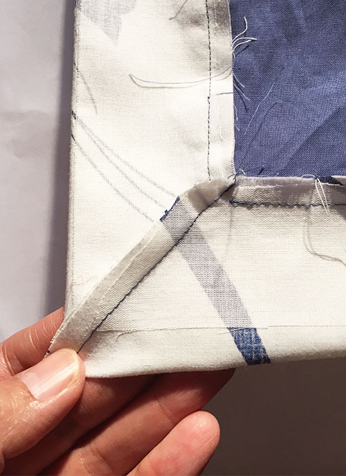 Sapporo coat - construction detail - C Sews