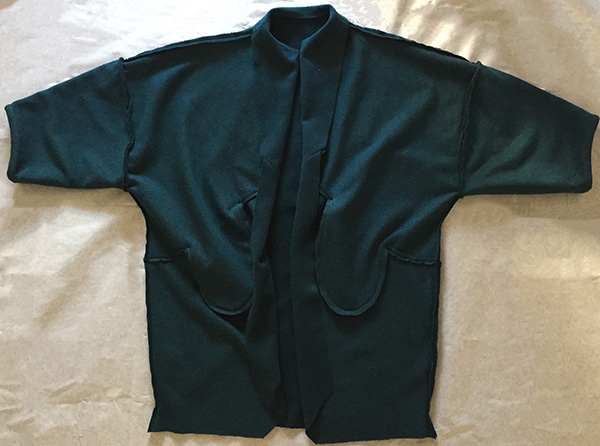 Sapporo Coat - wrong side - CSews