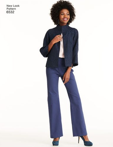 Fall sewing pattern - New Look 6532 - separates