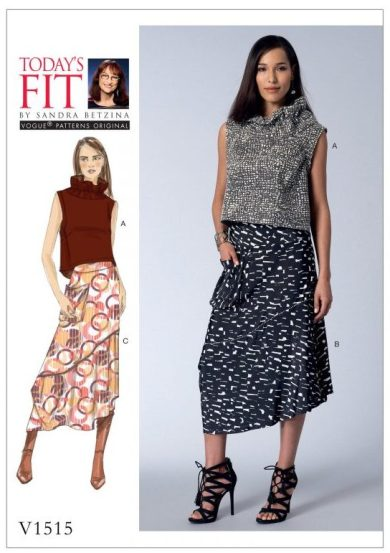 Fall sewing pattern - Today's Fit by Sandra Betzina, V1515