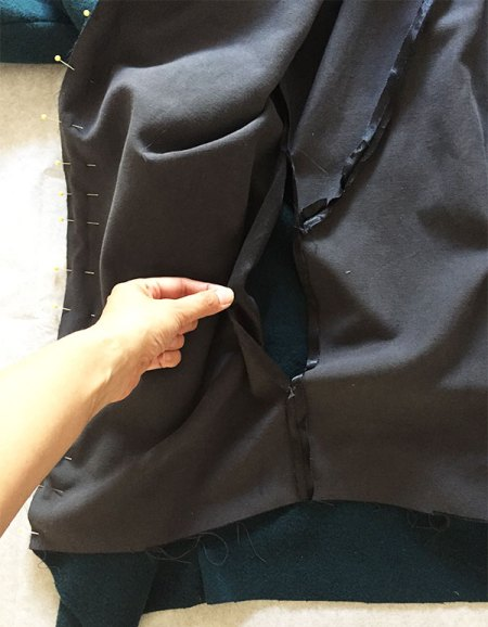 Lining opening - Sapporo Coat - CSews