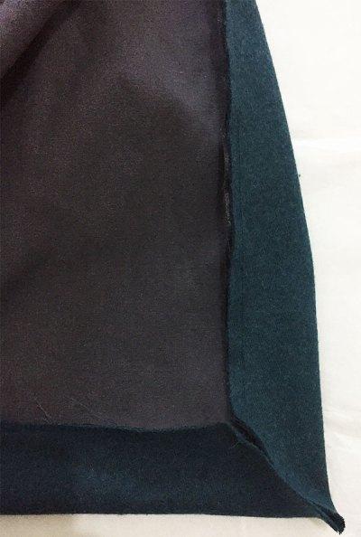 Lining sewn to corner - Sapporo Coat - CSews