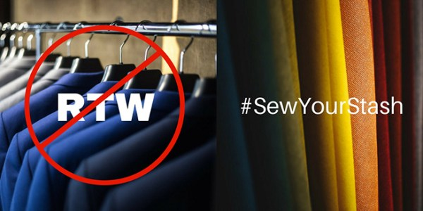 2018 RTW Fast and Sew Your Stash sewing challenge