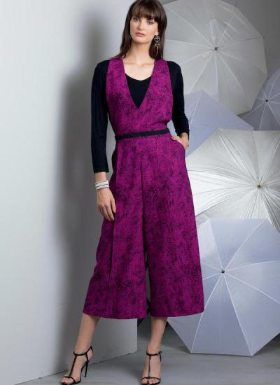 Big Four 2018 Spring Patterns - Today's Fit by Sandra Betzina Vogue pattern V1580 - pants - CSews.com