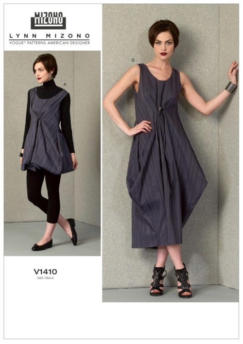 V1410 - Lynn Mizono - Vogue sewing patterns - dress