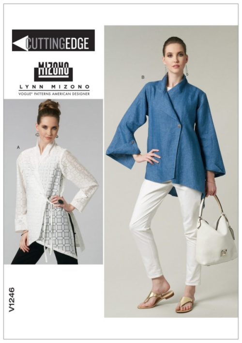 V1246 - Lynn Mizono - Vogue sewing patterns - dress