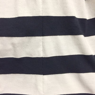 Matching stripes - rayon knit fabric - CSews.com