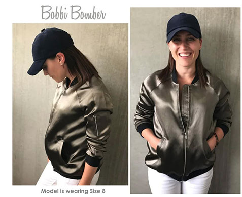 Style Arc Bobbi Bomber Jacket - CSews.com