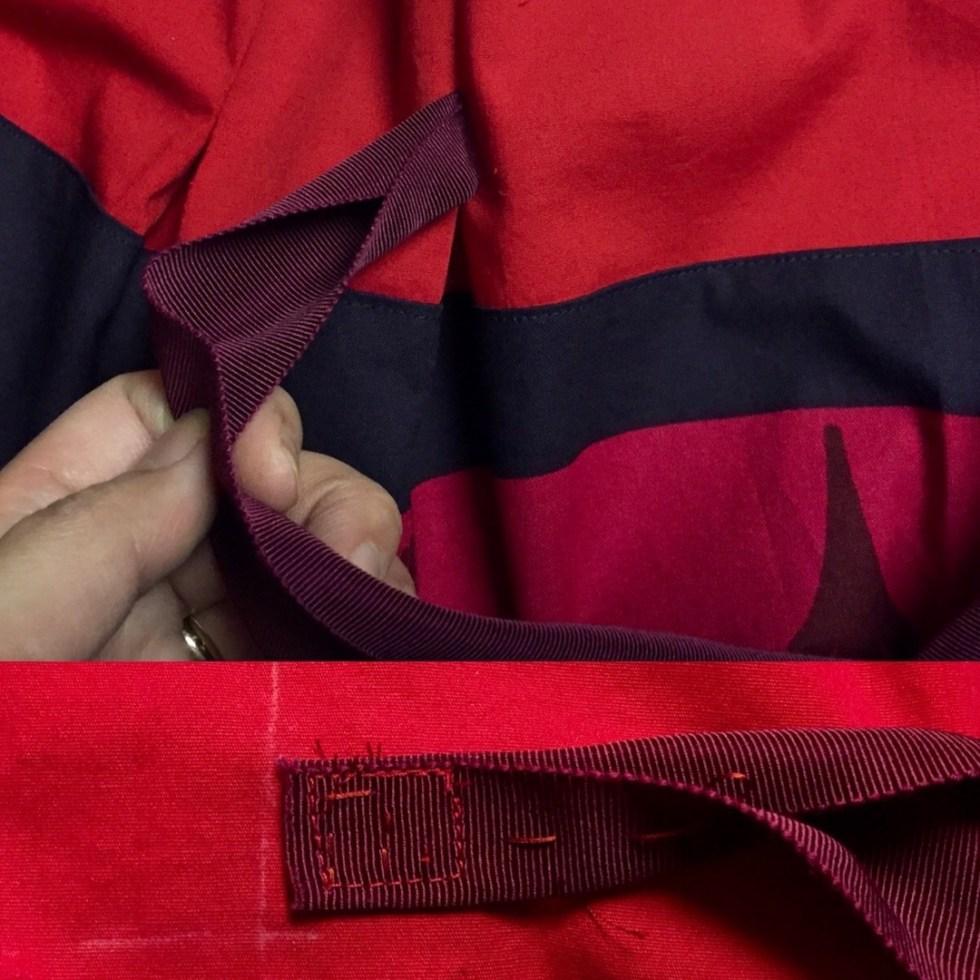 Frocktails skirt - ribbon at waist - CSews.com