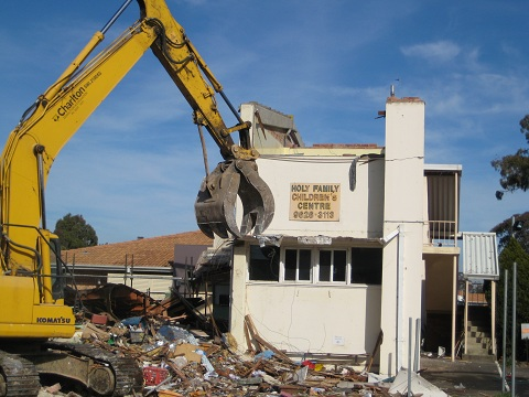 A Time for Building and a Time for Tearing Down