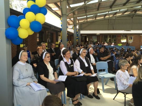 544official opening and blessing