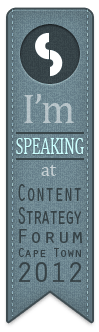 CS Forum badge - speaking