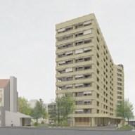 Visualisierung neues Hochhaus