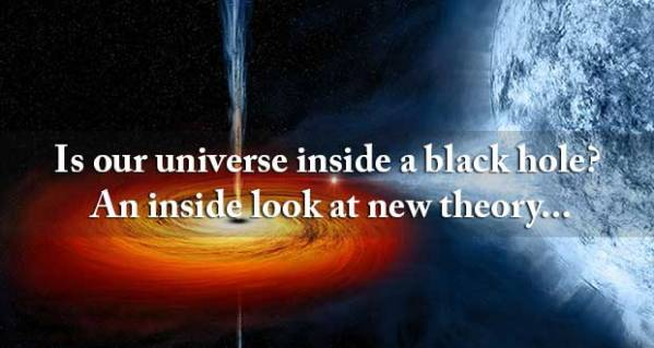 Every Black Hole Contains Another Universe, Claims New ...