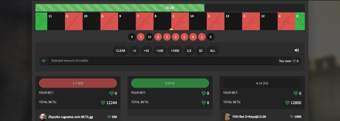 cs go roulette games skins