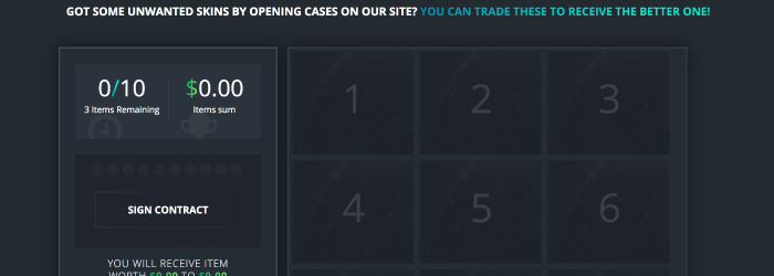 csgo drop skins vox case site