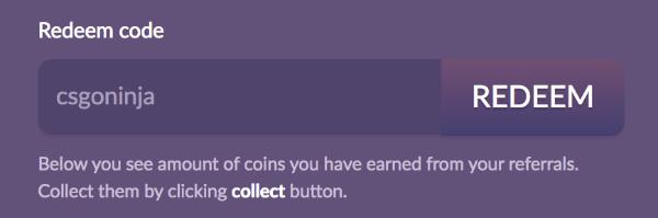 csgotower com bonus promo code free coins