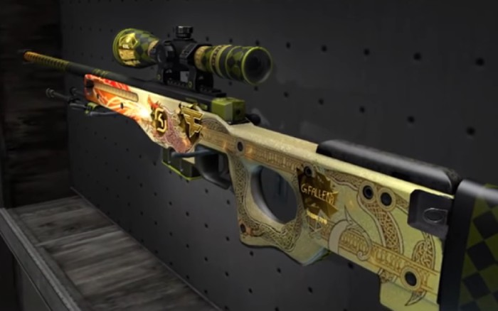 Souvenir AWP Dragon Lore – Souvenir – #1 Float – FN