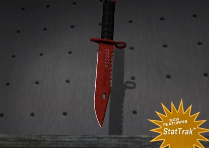 StatTrack M9 Bayonet Crimson Web – StatTrack – FN