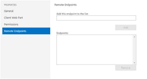 Remote Endpoints