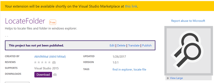 Visual Studio Extensibility (Day 2): – Deploying The VSIX