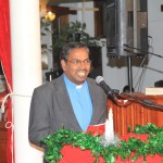 Feliciation -Rev. Harrison Chinnakumar Chaplain Anglican Church