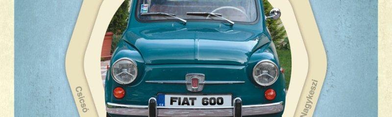 FIAT 600 veterán autós találkozó Csicsón
