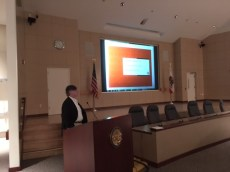 John Guill FCSI, AIA, of DTR Consulting Services presents at the Landmark Waterproofing Disasters seminar on November 18, 2016.