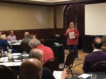 Valerie Harris provides guidance on Chapter President duties