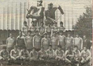 A Sport Club 1988-89-ben ezüstérmes csapata