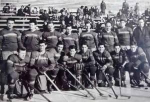 Az 1961-es B csoportos VB selejtezőre készülő válogatott