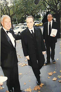 Don Metcalf and José Carreras during Carreras's visit to Melbourne in 1997