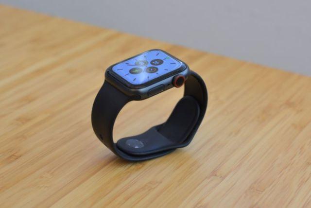 La nouvelle Apple Watch Series 5.