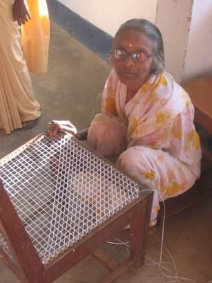 Helping women in India