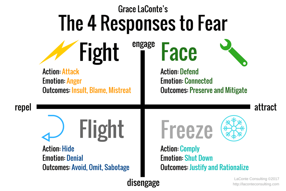 Our Brains Are Hard Wired To The Fight Flight Freeze