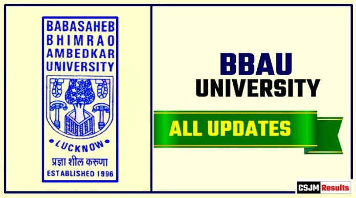 BBAU Result Time Table Admit Card Admission
