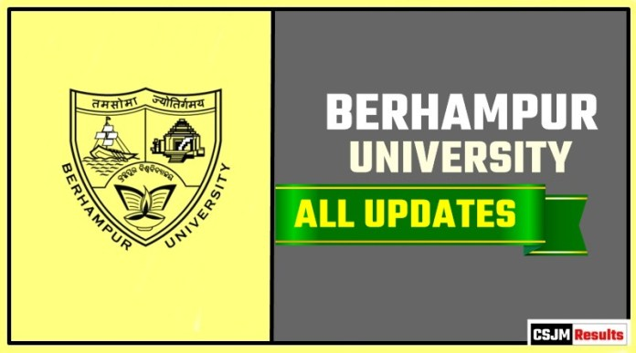Berhampur University Result Time Table Admit Card Admission