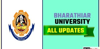 Bharathiar University Result Time Table Admit Card Admission