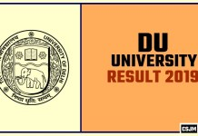 DU BA BSC BCOM Result 2019 Delhi University